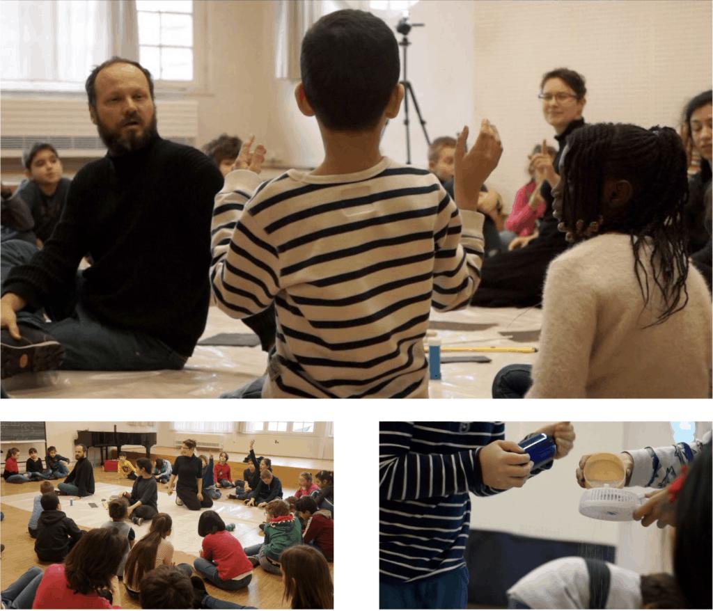 séances de découverte des sons avec les enfants